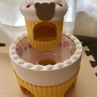 お誕生日ケーキ 音が出ます