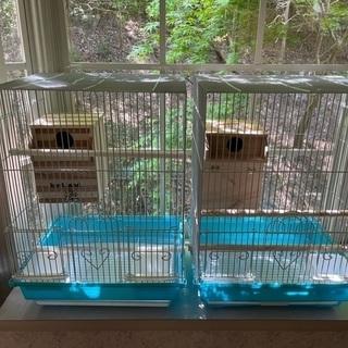 鳥かご②巣箱付き