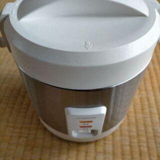 無料 0.5合~2.5合炊き 炊飯器