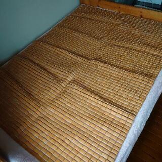 【無料】竹シーツ(セミダブル)、差し上げます