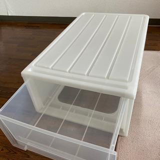 透明収納ボックス、美品