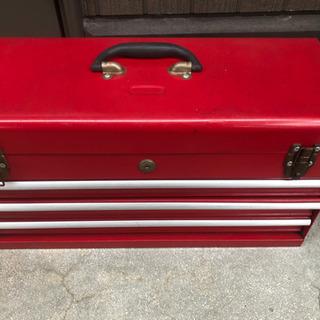 ♪中古ツールボックス赤♪