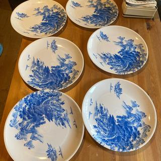 プラスチック 使い捨て 和皿 大皿