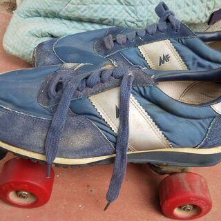 【ネット決済】ローラースケート 27cm 手作り収納袋付き