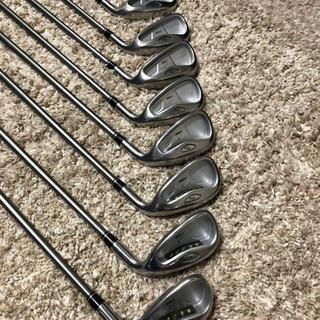 ゴルフ 11本中古フルセット! ドライバー、アイアン、ウェッジ、パター