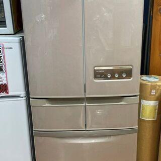 ☆日立 HITACHI 6ドア冷蔵庫 R-SF42YM 自…