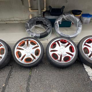 ホイール4本セット+タイヤ2本