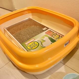 猫トイレ・砂セット