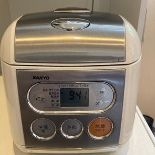 炊飯器お譲りします(SANYO  2006年製 5合炊)