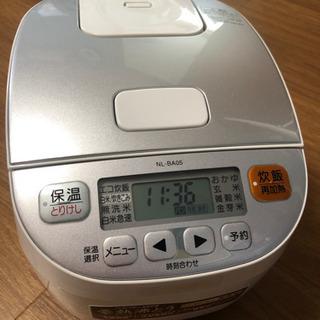 象印マイコン炊飯ジャー 3合炊き