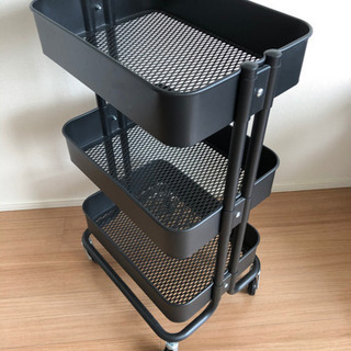 IKEA   イケア RASKOG   ロースコグ ブラック