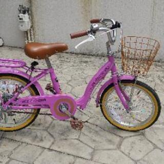 子供用16インチ自転車(アシストバー付)