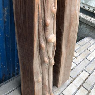 床の間 床間 柱 端材