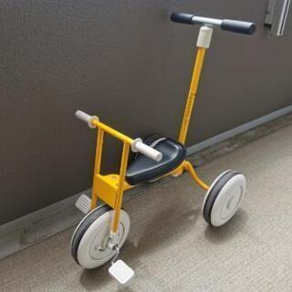 無印 舵取り棒付き三輪車