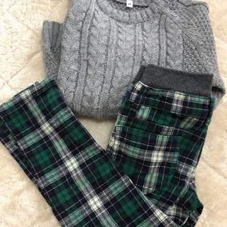 120セーター 110ズボン