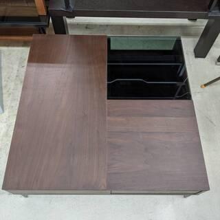 LOWYA スクエアテーブル ウォールナット材使用 ロウヤ