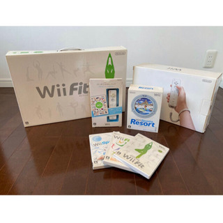 Nintendo Wii  本体 バランスボード ソフト5点