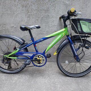 【中古】ジュニア用自転車 ブリジストン22インチ