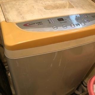 中古 4.6kg 洗濯機と乾燥機のセットお譲りします