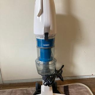 スティック型コンパクト掃除機【TWINBIRD TC-EA…