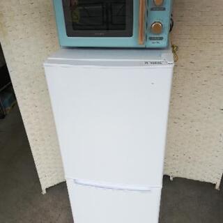 【配送無料】⭐ニトリ冷蔵庫106L+アイリスオーヤマ電子レンジ⭐...