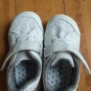 ベビー靴 14cm コンビミニ