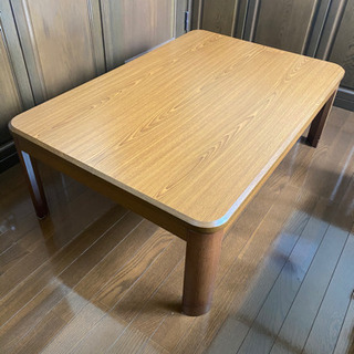 こたつテーブル こたつ布団セット - 売ります・あげます
