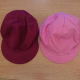 美品★カラー帽子5月中まで