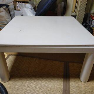 こたつテーブル(75×75)あげます☺️(引き取り早い方に…