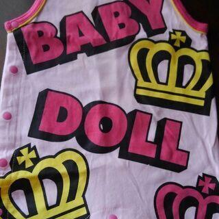 BABY DOLL ノースリーブロンパース70