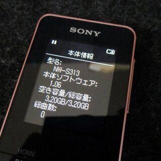 ソニー ウォークマン ポータブル オーディオ プレーヤー 4GB...