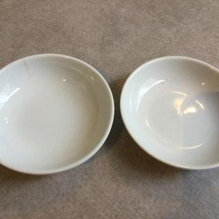 作業用】陶磁器の皿直径8.5cm2枚