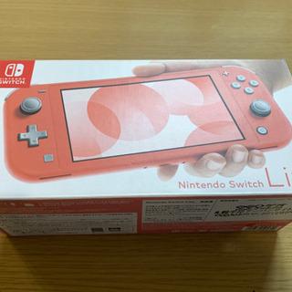 【新品同様】Nintendo Switch light(コーラル...