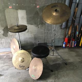 ドラムセットの一部