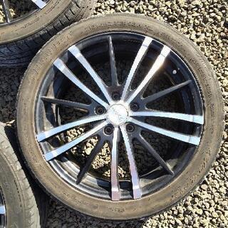 215/45R18 タイヤホイールセット 4本