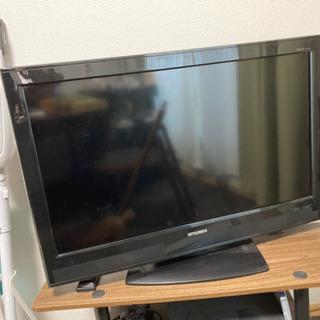 テレビ、テレビ台、リモコン付