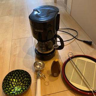 ミルク泡立て器、アイススプーン、コーヒーメーカー など