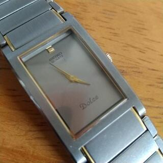 【ネット決済・配送可】女性用品腕時計SEIKO.DOLUCE