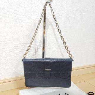 美品 FURLA レザーミニハンドバッグ