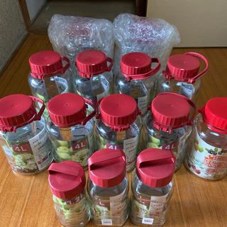 新品 バラ売りOK! ガラス瓶 梅酒 果実酒 8L×2 5…