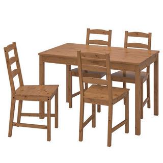 IKEAイケア JOKKMOKK テーブル&チェア4脚、ア…