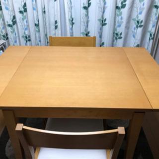 ダイニングテーブルセット7000円【引取り限定】