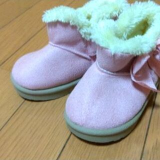 13cmムートン風ブーツ