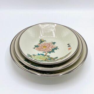 陶器の皿3枚セット