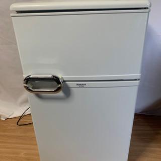 【格安!】早い者勝ち✨モリタ 88L冷蔵庫 MR-D09BB