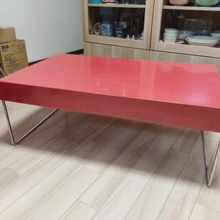 センターテーブル スチール製 インダストリアルデザイン