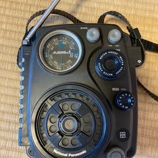 アンティーク 防水ラジオ ナショナル