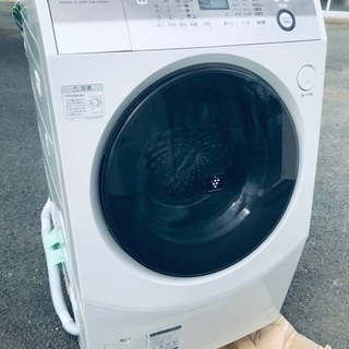 ♦️EJ888B SHARPドラム式洗濯乾燥機 【2015…
