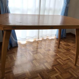 折りたたみ式 丸ーいダイニングテーブル