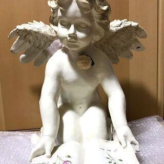 エンジェル 置物 樹脂製 インテリア ガーデニング 天使 …